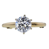 1.19 ct. Round Cut Solitaire Ring, H, I2 #3