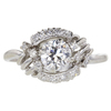 0.93 ct. Round Cut Solitaire Ring, G, VS2 #3