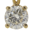 1.25 ct. Round Cut Pendant Necklace, I, I2 #4