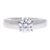 0.59 ct. Round Cut Solitaire Ring, E, SI1 #3
