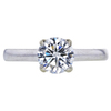 1.16 ct. Round Cut Solitaire Ring, G, SI2 #3