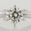0.70 ct. Round Cut Solitaire Ring #1