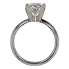 1.3 ct. Round Cut Solitaire Ring, J, SI1 #4
