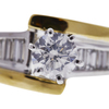 0.71 ct. Round Cut Solitaire Ring, F, I1 #4