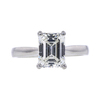 1.70 ct. Emerald Cut Solitaire Ring, I, SI1 #3