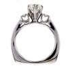 1.36 ct. Round Cut Bridal Set Ring #4