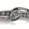 .81 ct. Pear Cut Central Cluster Ring #1