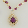 1.86 ct. Pear Cut Necklace #3