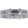 1.58 ct. Emerald Cut Solitaire Ring, E, VVS1 #2