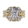 1.00 ct. Round Cut Bridal Set Ring, I, SI2 #1