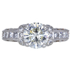 1.50 ct. Round Cut Solitaire Ring, K, I1 #1