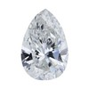1.63 ct. Pear Cut Bridal Set Ring, G, SI1 #1