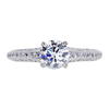 0.83 ct. Round Cut Solitaire Ring, F, VS2 #3