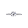 0.80 ct. Round Cut Solitaire Ring, E, VVS2 #3