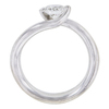 0.67 ct. Round Cut Solitaire Ring, G, SI1 #3