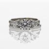 .98 ct. Round Cut Bridal Set Ring #3
