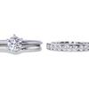 0.73 ct. Round Cut Bridal Set Tiffany & Co. Ring, D, VVS1 #3