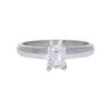 0.7 ct. Emerald Cut Solitaire Ring, E, VS1 #3