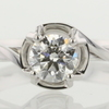 0.57 ct. Round Cut Solitaire Ring #1