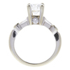 1.01 ct. Round Cut Solitaire Ring, F, SI1 #4
