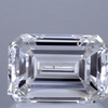 Art Deco GIA 1.04 ct. Emerald Cut Bridal Set Ring, J, VS2 #1