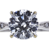 1.21 ct. Round Cut Solitaire Ring, H, VS2 #4