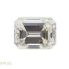 1.01 ct. Emerald Cut Bridal Set Ring, K, SI1 #3