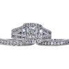 1.01 ct. Modified Cushion Cut Bridal Set Ring, H, SI1 #3