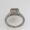 .97 ct. Round Cut Halo Ring #1