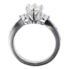 1.03 ct. Round Cut Bridal Set Ring, G, VS2 #2