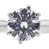 1.00 ct. Round Cut Solitaire Ring, D, SI2 #4