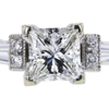 1.01 ct. Princess Cut Solitaire Ring, F, VS2 #4
