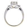 0.91 ct. Round Cut Bridal Set Ring, J, SI1 #4