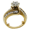 1.18 ct. Round Cut Bridal Set Ring, K-L, I2 #3
