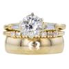 1.40 ct. Round Cut Bridal Set Ring #1
