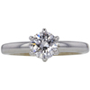 1.0 ct. Round Cut Solitaire Ring, E, SI2 #3