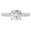 1.99 ct. Round Modified Brilliant Cut Solitaire Ring, I, SI2 #3