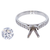 1.54 ct. Round Cut Solitaire Ring, G, SI2 #3