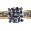 0.83 ct. Round Cut Bridal Set Ring, H, VS2 #4