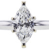 1.00 ct. Marquise Cut Solitaire Ring, G, SI1 #4