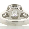 1.01 ct. Cushion Cut Halo Ring #4