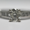 1.32 ct. Round Cut Central Cluster Ring #3