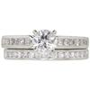 0.75 ct. Round Cut Bridal Set Ring, G, VVS2 #3