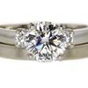 1.41 ct. Round Cut Bridal Set Ring #3