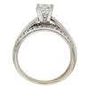 0.93 ct. Princess Cut Bridal Set Ring, G-H, VS1 #2