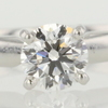 0.70 ct. Round Cut Bridal Set Ring #4