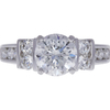 1.52 ct. Round Cut Solitaire Ring, F, I1 #3