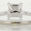 0.76 ct. Princess Cut Solitaire Ring #4