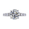 3.04 ct. Round Cut Solitaire Ring, L, I2 #2