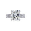 3.01 ct. Cushion Cut Solitaire Ring, J, VS2 #2
